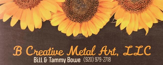 B Creative Metal Art Mt. Calvary Wisconsin